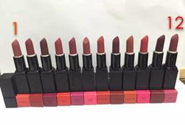 Wholesale Lipstick Pcs - Latest best-selling good quality makeup matte lipstick 12 different color 12 PCS