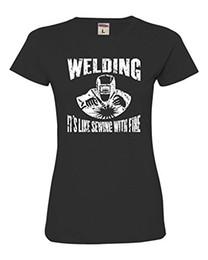 d33f1cc41646c 2019 t-shirt à coudre Tee-shirt Femme Soudage C est comme Coudre