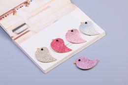Wholesale Bird Hair Clips - Cute Cartoon Baby Girls hair accessories Sparkling Birds Children hair clips 2018 New Korean Kids Barrette Fashion BB Hair Pin C3372