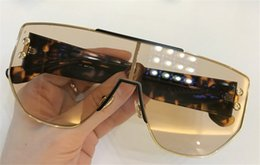 Wholesale fit sunglasses - New fashion designer sunglasses ADDICT classic frameless metal pilots with top quality popular style bestselling protection fitting type