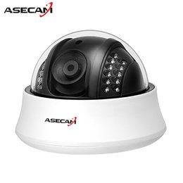 Wholesale 3mp dome - NEW Product Full HD 3MP Lens 1920P Indoor Mini White Dome Video Surveillance infrared Super IMX322 AHD Security Camera