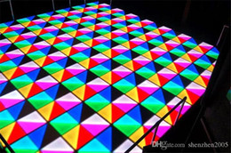 RGB LED Dance Floor 1MX1M LED High brightness DJ Disco Party Wedding DMX Stage Light square brick 1m by 1m lighting