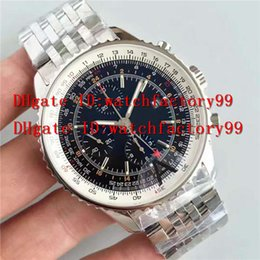Wholesale Swiss Automatic Movement Chronograph - Luxury brand Chronograph Automatic Movement 7750 Swiss mens watch rotating Brzel 288800 VPH 316L steel Sapphire Crystal men's watches