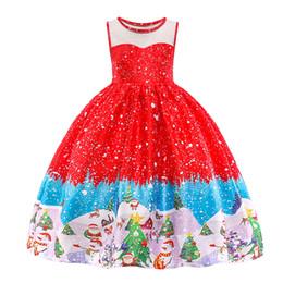 2019 trajes de fantasia de santa Baohulu fantasia vestido de baile de ano novo meninas natal santa dress tutu meninas boneco de neve de inverno férias xmas vestidos de festa crianças trajes desconto trajes de fantasia de santa