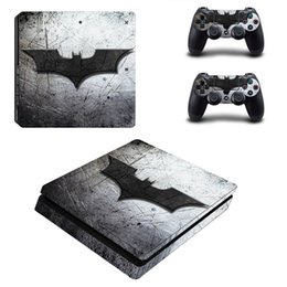 Wholesale Xbox Vinyl Decals - 2018 Classic PS4 Sticker Green Camouflage Vinyl Cover Decal PS4 Skin Sticker for Sony Play Station 4 Console and 2 Controller Skin