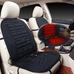 2 pezzi riscaldati copertura del sedile auto cuscino di controllo della temperatura cuscino pad riscaldato sedile inverno scaldino riscaldatore per auto SUV da