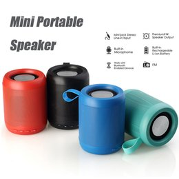 Wholesale metal readers - Wireless Bluetooth Speakers Stereo Portable Mini Speaker Subwoofer Stereo Sound with 5W Strong Driver Support TF Card FM Radio Aux