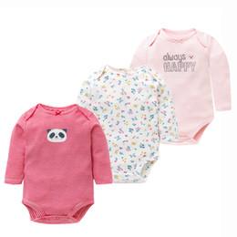 fe3cab04b50c 3Pcs Lot Newborn Baby Bodysuits Set 100% Cotton Baby Boys Girls Pajamas Clothes  Infant Long Sleeve Underwear Baby Clothing Y18102008 cheap cute unisex ...