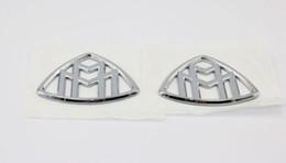 2шт хром Maybach авто сторона автомобиля эмблема значок наклейка от Поставщики палка в любом месте