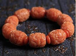 pilastri intagliati Sconti Braccialetto di amuleto di radice di bodhi esposto alle intemperie intagliato a mano braccialetto di perline stringa di corda di drago scolpito braccialetto