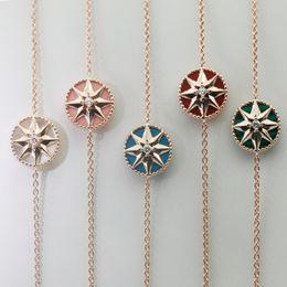 2019 kompass für armband Luxus Schmuck Designer C und D ROSE DES VENTS Armbänder für Frauen Kompass Armbänder Strass Zirkon Armbänder günstig kompass für armband