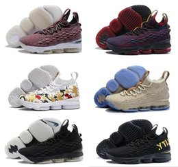Wholesale Easter Floral - 2018 James 15 15s men Basketball Shoes Ashes Ghost EQUALITY Floral Cavs Sneakers 15s Mens Casual James 15 sports Shoes size Eur 40-46