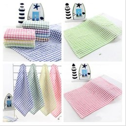 Wholesale Absorbent Dish Towels - Hot Kitchen Dish Towels Cotton Soft Microfibre Double-sided Absorbent Non-stick oil Wash Bowl Towels Kitchen Cleaning Cloth