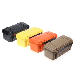 Wholesale Outdoor Medical Kits - Waterproof Colorful Outdoor Box Organizer EDC Gear Storage Box Portable Durable Survival Case Plastic Strong Useful Tool