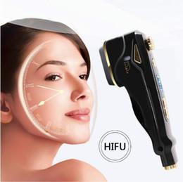 Machines de serrage du visage en Ligne-2018 plus récent !!! Peau de levage de visage de HIFU d'utilisation à la maison serrant CE / DHL de machine de soins de la peau de visage de retrait de ride de thérapie de HIFU d'outils de soins de la peau