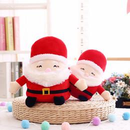 giocattoli all'ingrosso delle bambine Sconti 10pcs bambola di Babbo Natale del fumetto regalo di Natale bambola giocattolo appeso ornamenti albero di natale ciondolo