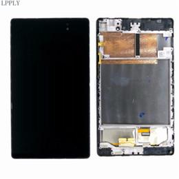 Pantalla táctil lcd pad online-LPPLY LCD ensamblaje para ASUS Memo Pad 7 me572 me572c me572cl me572k Pantalla LCD Cristalizador de pantalla táctil Digitalizador Envío Gratis