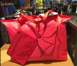 Wholesale macbook pro china wholesale - Women's UA Handbags Travel Duffle Tote Bags Waterproof with Tag Fashion Big Capacity Beach Handbag Shoulder Bag Laptop Bag Pouches