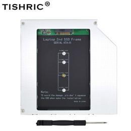 TISHRIC 2nd HDD Caddy 9.5mm SATA 3 Alüminyum NGFF M.2 M2 Optibay Sabit Disk Muhafaza Adaptörü DVD HDD 2.5 SSD Laptop Için Kılıf supplier hard disks for laptops nereden dizüstü bilgisayarlar için sabit diskler tedarikçiler