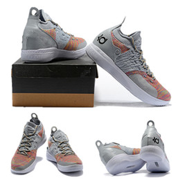 cad3fefa307 2019 New Kevin Durant 11 Basketball Shoes Men KD 11 Gold Championship MVP  Finals Sports training Sneakers Run Shoes Size 40-46