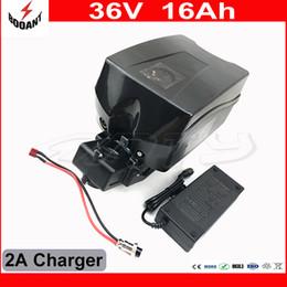 Batterie de vélo électrique en libre-service 36V 16Ah pour utilisation en Europe avec batterie 18650 au lithium-ion cellulaire 36V avec chargeur de batterie 2A pour chargeur ? partir de fabricateur