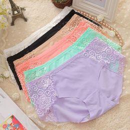 Wholesale ladies bamboo fiber panties - Sexy Ladies Girls Seamless Panties Briefs Intimates Soft Bamboo Fiber Underwear