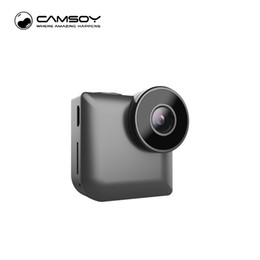 Wholesale Hd Video Format - 2017 New Designs C3 Mini WIFI Camera IP Control Night Vision Video Camera for Gift HD 720P MP4 Video Format Camcorder