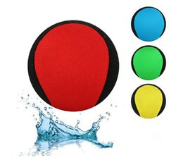 2019 шарики вода Плавательные игрушки Водные прыжки мяч Летние водные игрушки для взрослых и детей можно настроить логотип Четыре цвета по желанию