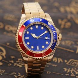 Wholesale dark seas - SEA relogio masculino mens watches Luxury wist fashion Black Dial With Calendar Bracklet Folding Clasp Master Male giftluxury Mens Watches