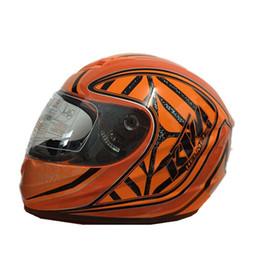Wholesale Motocross Helmets Full Face - Newest KTM Motorcycle Full Face Helmet Street Racing Motorbike Casque Casco Capacete Protective Gear
