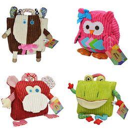 Wholesale Minion Bags - Kids Toddler Child Baby Plush Cartoon Kindergarten Stuffed Minion Doll Cartoon School Bag Backpack