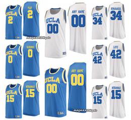 Wholesale custom college shirts - SMITH RILEY Custom Men Women Youth OLESINSKI Jersey UCLA UA College Basketball LOONEY LaVINE HILL Stitched Shirts GOLOMAN POWELL Jerseys
