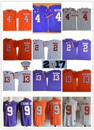 Wholesale Hunter Mens - Mens NCAA ACC Clemson Tigers Kelly Bryant Football Jersey Stitched 13 Hunter Renfrow 4 DeShaun Watson Clemson Tigers Sugar Bowl Jerseys S-3X