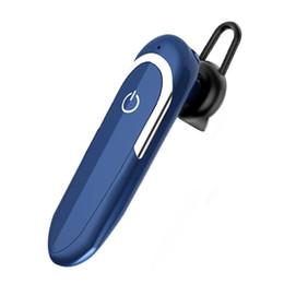 hd earphones UK - Luxury Bluetooth Earphone D5 with HD Microphone Wireless Earpiece Car Earbuds DSP Noice Cancelling fone de ouvido Ear Hook