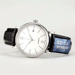 Wholesale movement miyota - Top PORTOFINO FAMILY aaa luxury mens watches automatic luxury watch brand wristwatch Sapphire MIYOTA 8215 Movement original Bottom cover