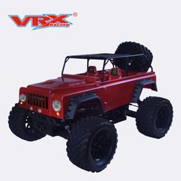 2019 moteur rc nitro Jouet RC Voiture Jeep rc VRX Racing Méga-épée Jeep RH1001M Monster nitro 1/10 Version Jeep mono vitesse avec moteur 18 moteur rc nitro pas cher