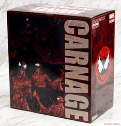 Wholesale dc action - Hot Sale MARVEL CARNAGE DC Super Hero Spiderman Spider Man 1 10 PVC Action Figure Collectible Model Toys Kid Gift Phone Accessories