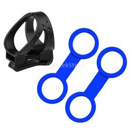 Wholesale Pump Clips - 3pcs set Universal Scuba Diving Silicone Mask Snorkel Keeper Clip Holder Retainer - Dive Accessories