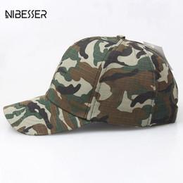 275bd53085c NIBESSER Women Men Baseball Cap Fashion Camouflage Camo Hats Baseball Hat  Snapback Hunting Cotton Printed Climbing Army Dad Cap