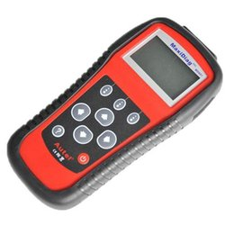 Wholesale power dodge - 10PCS Maxidiag PRO MD801 4 In 1 Code Scanner Autel MaxiDiag Pro MD 801 Multi-Functional Scan Tool Powered By Autel Uni-SCAN