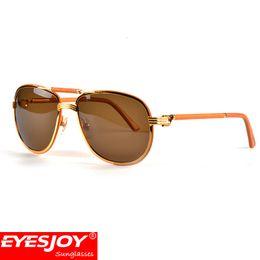 Wholesale Mens Fashion Sunglasses - Luxury brand gold Sunglasses brands for women classic designer red Mens Fashion brand Sunglasses with box