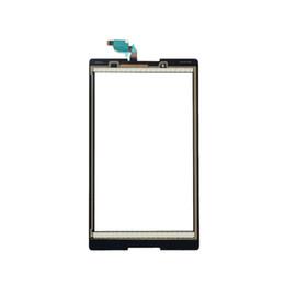 2019 a8 lcd Белый / черный сенсорный экран датчика стекла дигитайзер без ЖК-дисплей для Lenovo Tab 2 A8-50F A8-50LC дешево a8 lcd