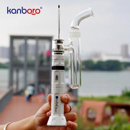 forro de canada Rebajas Venta caliente en línea en Canadá vaporizador de hierba seca con pipas de vidrio y cigarrillos de Ecube kit