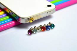 Wholesale gadgets free - 2018 Newest 3.5mm Earphone Jack Plugs Anti Dust Plus Headphone for All series Mobile Phone Plugs Stopper Cap Gadgets Free