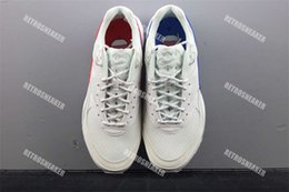 Wholesale leather shoelaces - 2018 New Skepta x Maxes Airs Cushion 97 Sports Casual Shoes for Women Men The ten Shoelaces Sneakers Size EUR40-45