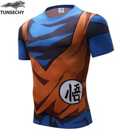 Wholesale Anime Dbz - Cute Kid Goku 3D t shirt DBZ t shirts Women Men Casual tees Anime Dragon Ball Z Super Saiyan t shirts Harajuku tee shirts