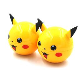 Molinillos fáciles online-Grinder colorido forma de juguete amarillo trituradora de hierbas el más nuevo estilo 55 MM aleación de zinc de alta calidad fácil de quitar accesorios de pipa de fumar