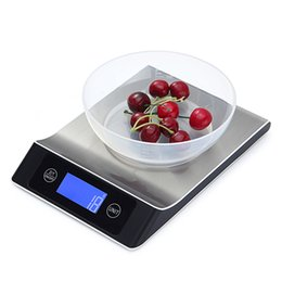 Wholesale Accurate Scales - Kitchen Scale 5kg 1g Accurate Digital Kitchen Touch Control Scale with LCD Display Kitchen Scale Electronic