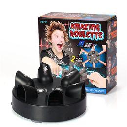Yeni Parmak elektrik çarpması elektrik yalan dedektörü dört şanslı tekerlek çaylak gerçeği macera yaratıcı masa oyunu dekompresyon oyuncak DHL ücretsiz nereden oyuncaklar yoyo tedarikçiler