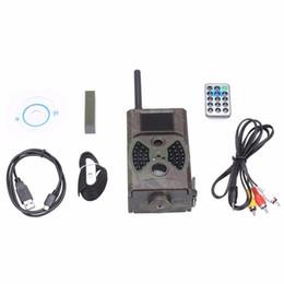 Wholesale ir game cameras - 12MP 940nm NO glow Trail Cameras Hunting s Trap Game Cameras Black IR Wildlife Cameras